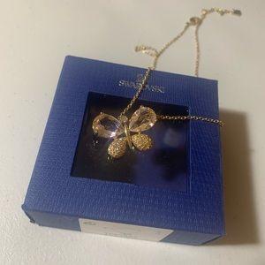 Swarovski Women's Necklace Large crystal Butterfly